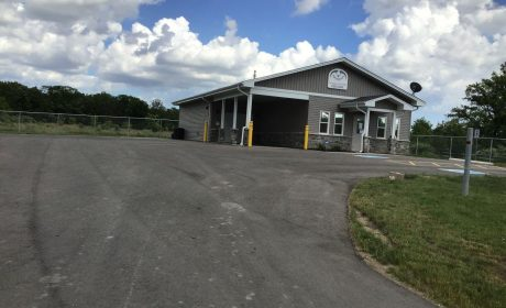 Outside view of the Six Nations Food Bank