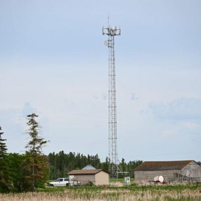Rural communication tower