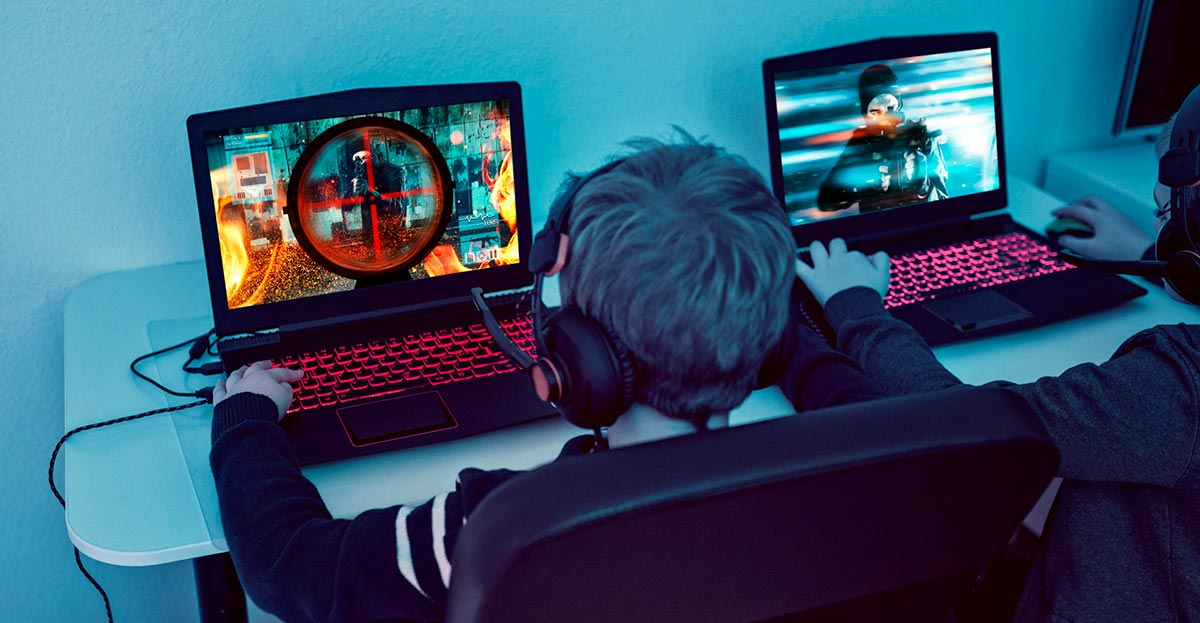 Xplornet - kids playing video games