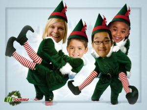 Sample ElfYourself Image